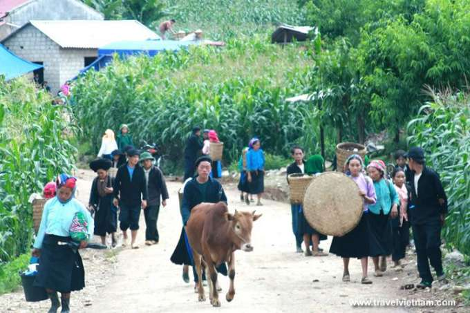 Ethnic people in Ha Giang