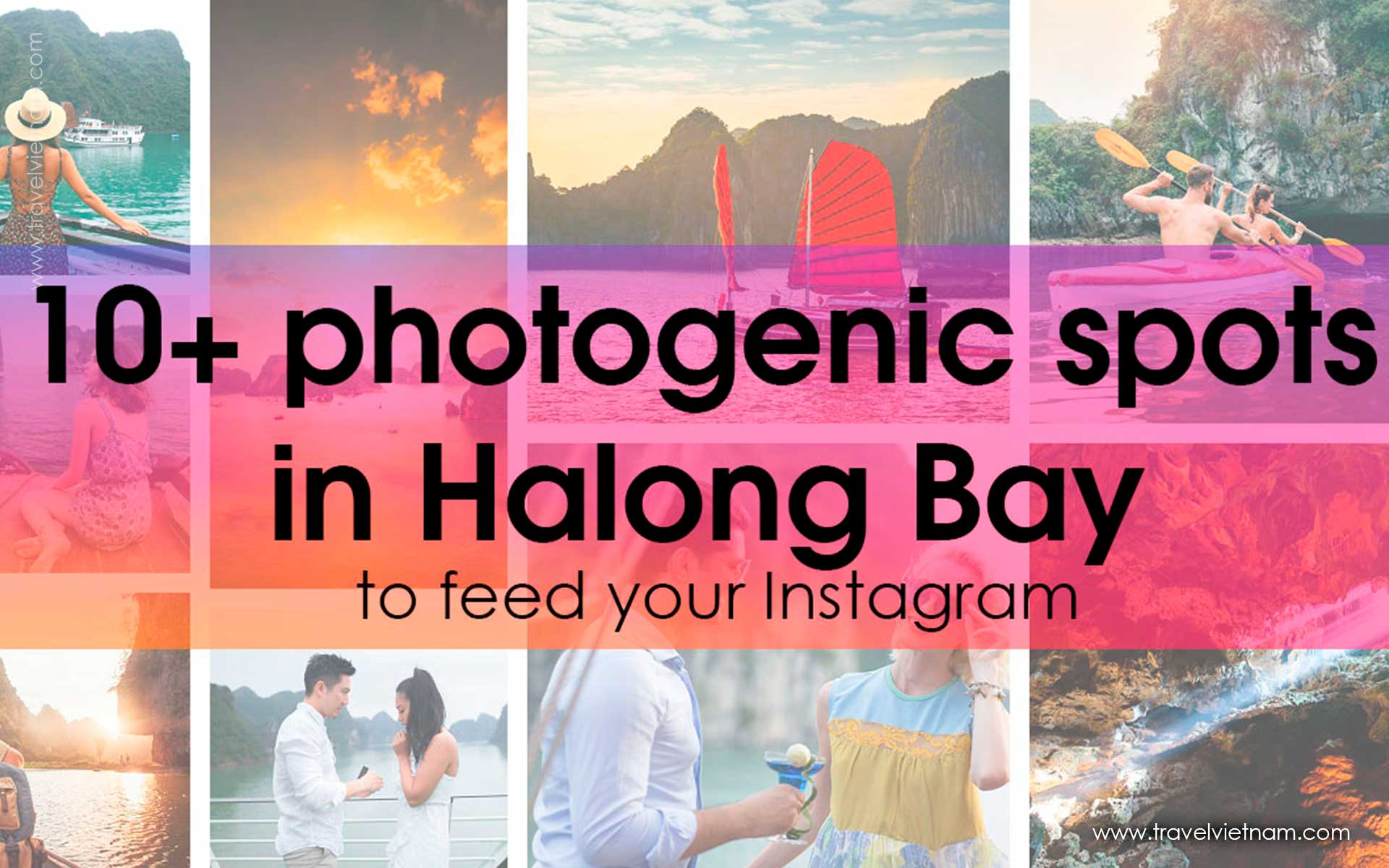 get best photos in halong 1