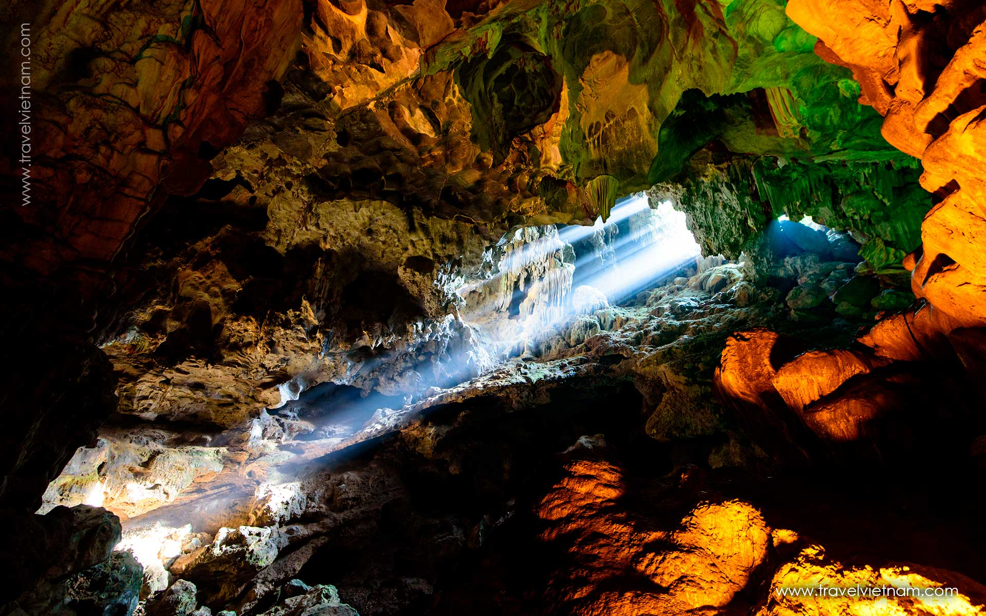 get best photos in halong thien cung cave