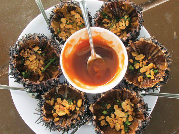scallop seafood in nam du