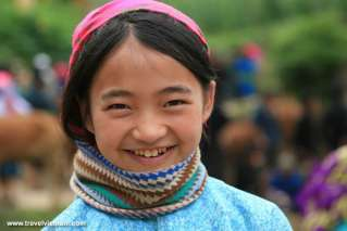 A girl in Ha Giang