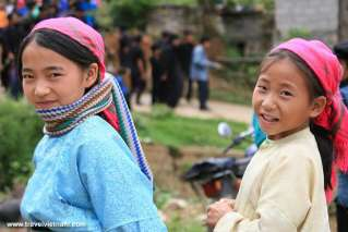 Kids in Ha Giang