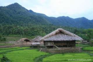 A stilted house in Ha Giang