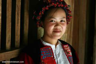 H'Mong lady in Ha Giang