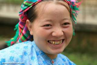 Smiling face in Ha Giang