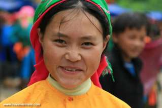 A local woman in Ha Giang