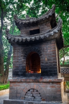 Votive incinerator at Quan Thanh Temple