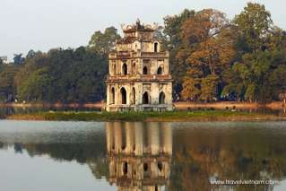 Turtle Tower - a symbol of Hanoi