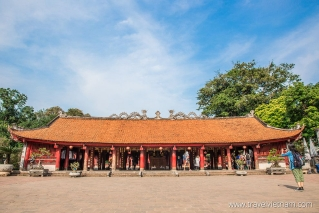 Bai Duong - House of Ceremonies in Temple of Literature