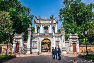 Entrance to Temple of Literature