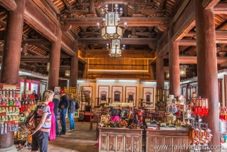 Gift shop in Temple of Literature