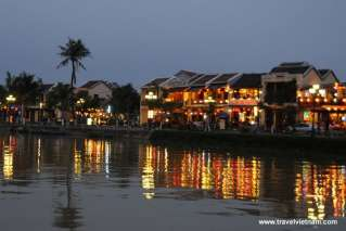 Sparkling Hoi An on Thu Bon river