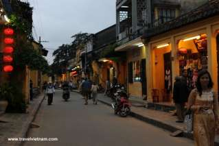 Hoi An Ancient Town in the sunset