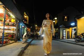 Hoi An Ancient Town in the evening