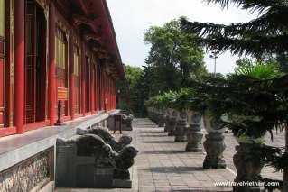 A corner of Hue Imperial City