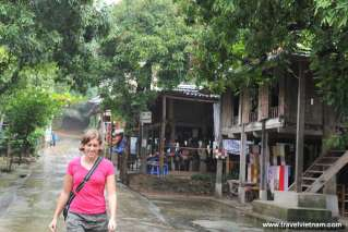 Visiting Mai Chau on a rainy day
