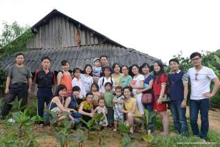 Saving memory of Moc Chau trip
