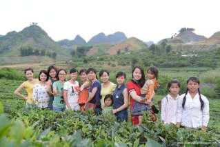 Charity trip to Moc Chau