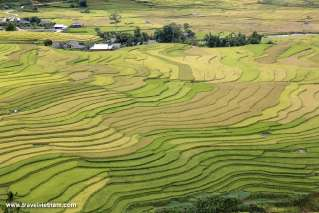 Picturesque view in Mu Cang Chai
