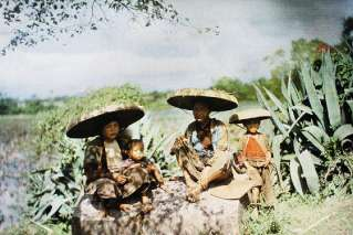 North Vietnam 100 years ago