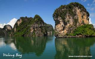 Beauty of North Vietnam on the bay