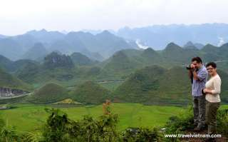 Admire panoramic view of Northern Vietnam