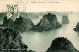 Old Halong from above