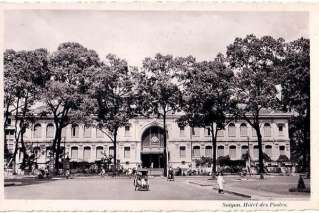 Post office of Saigon in the past