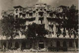 Hotel Majestic Saigon in the past