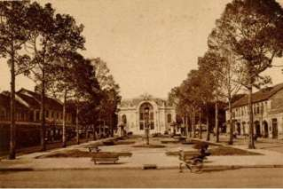Saigon Opera House in the past