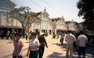 Dong Xuan market in the past