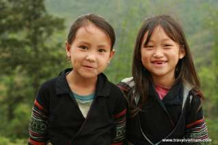 Adorable children with innocent smile