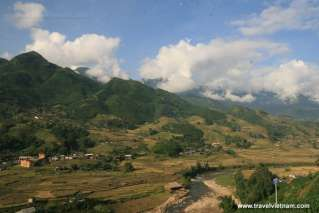 Beautiful landscape in Sapa