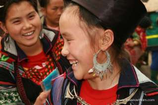 Friendly smiles of the local ethnic minority people