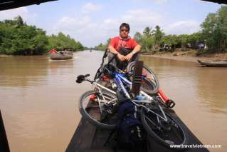 Biking tour in Mekong