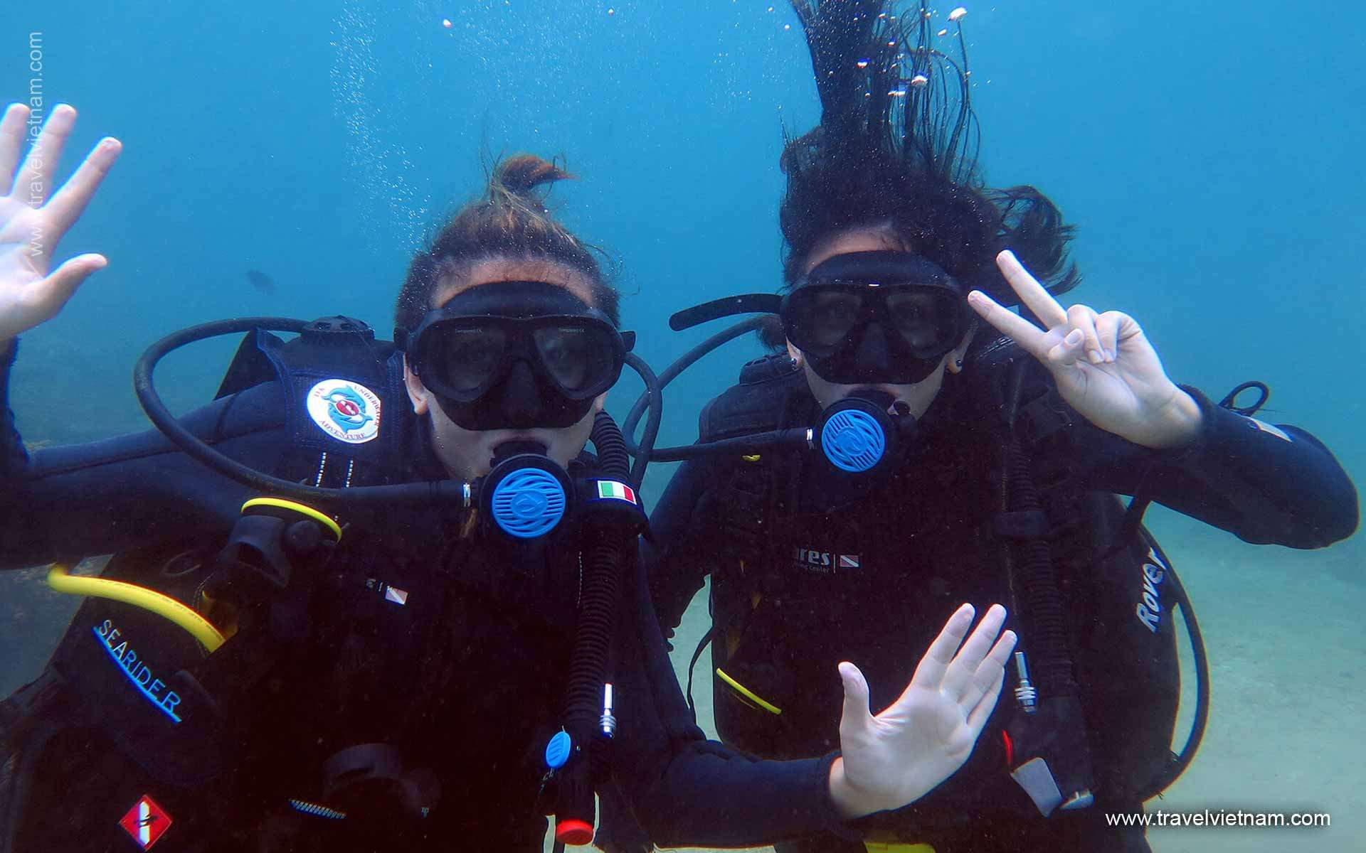 Diving in NhaTrang