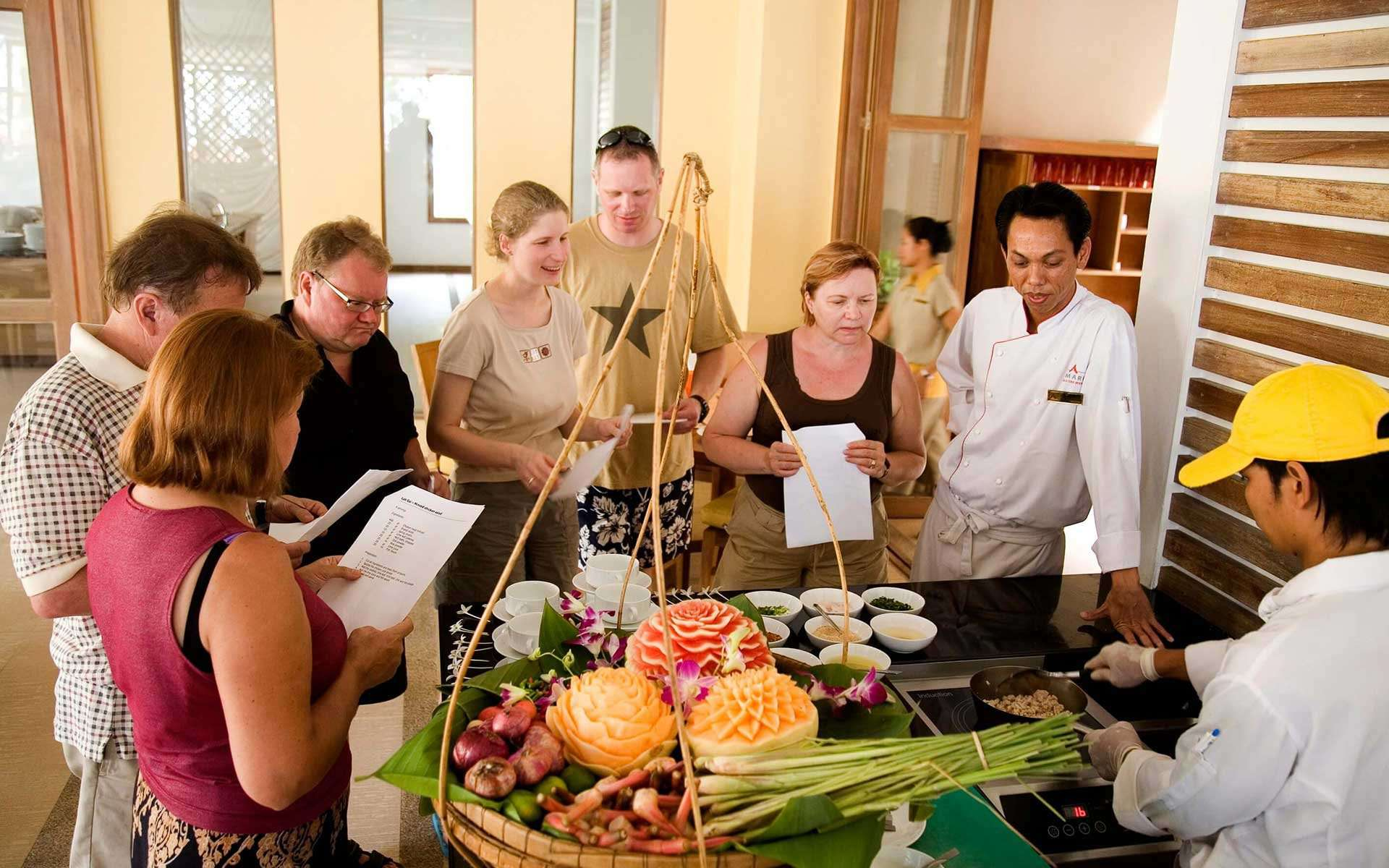 Cooking class in Hoian