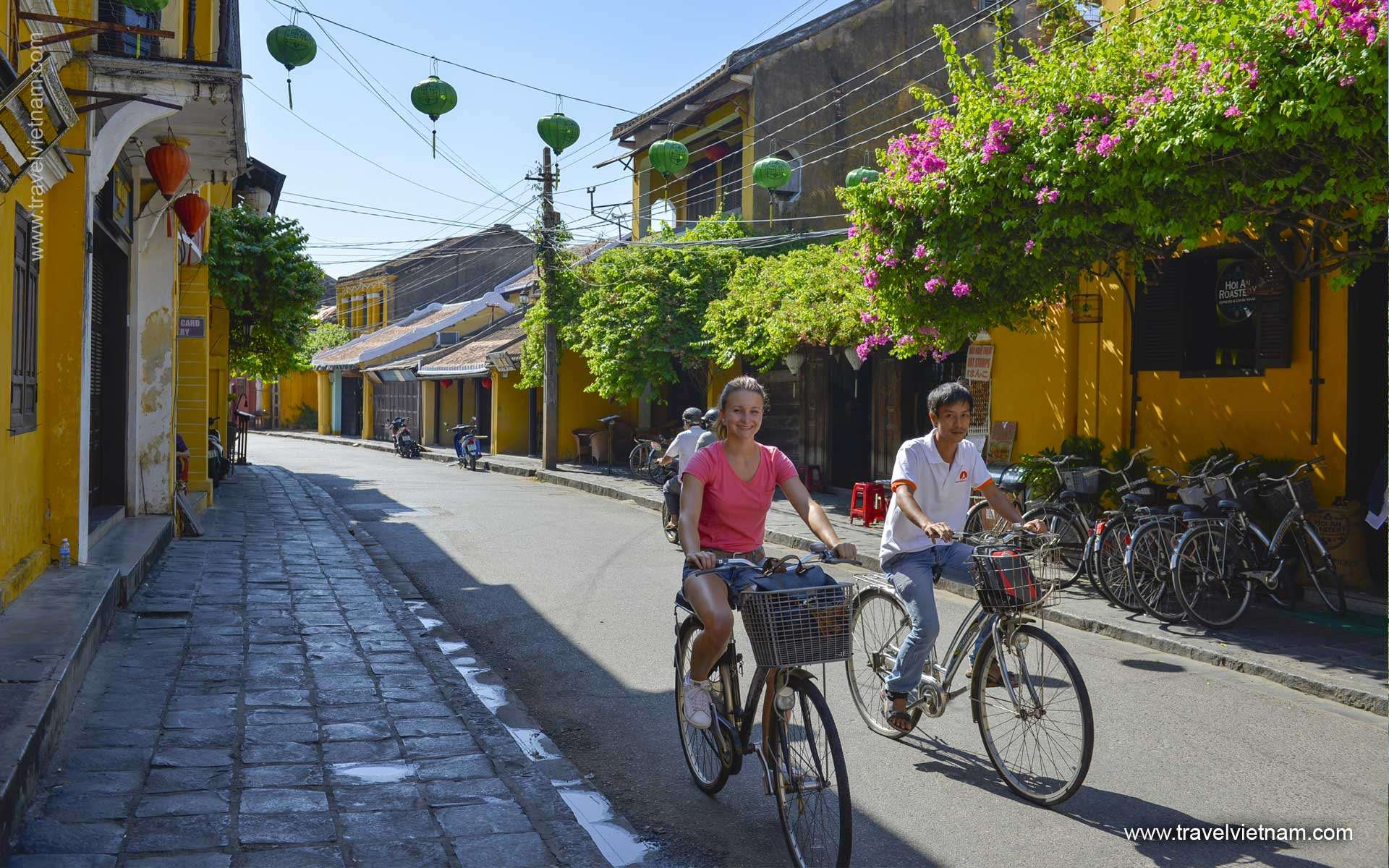 Biking in Hoian countryside