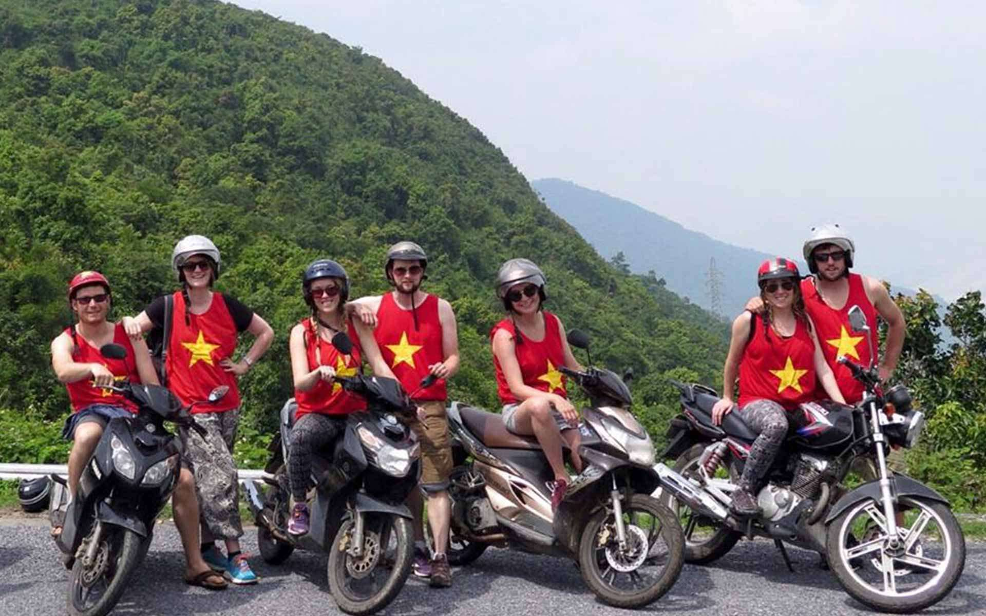 Motorbike from Hue to Hoian