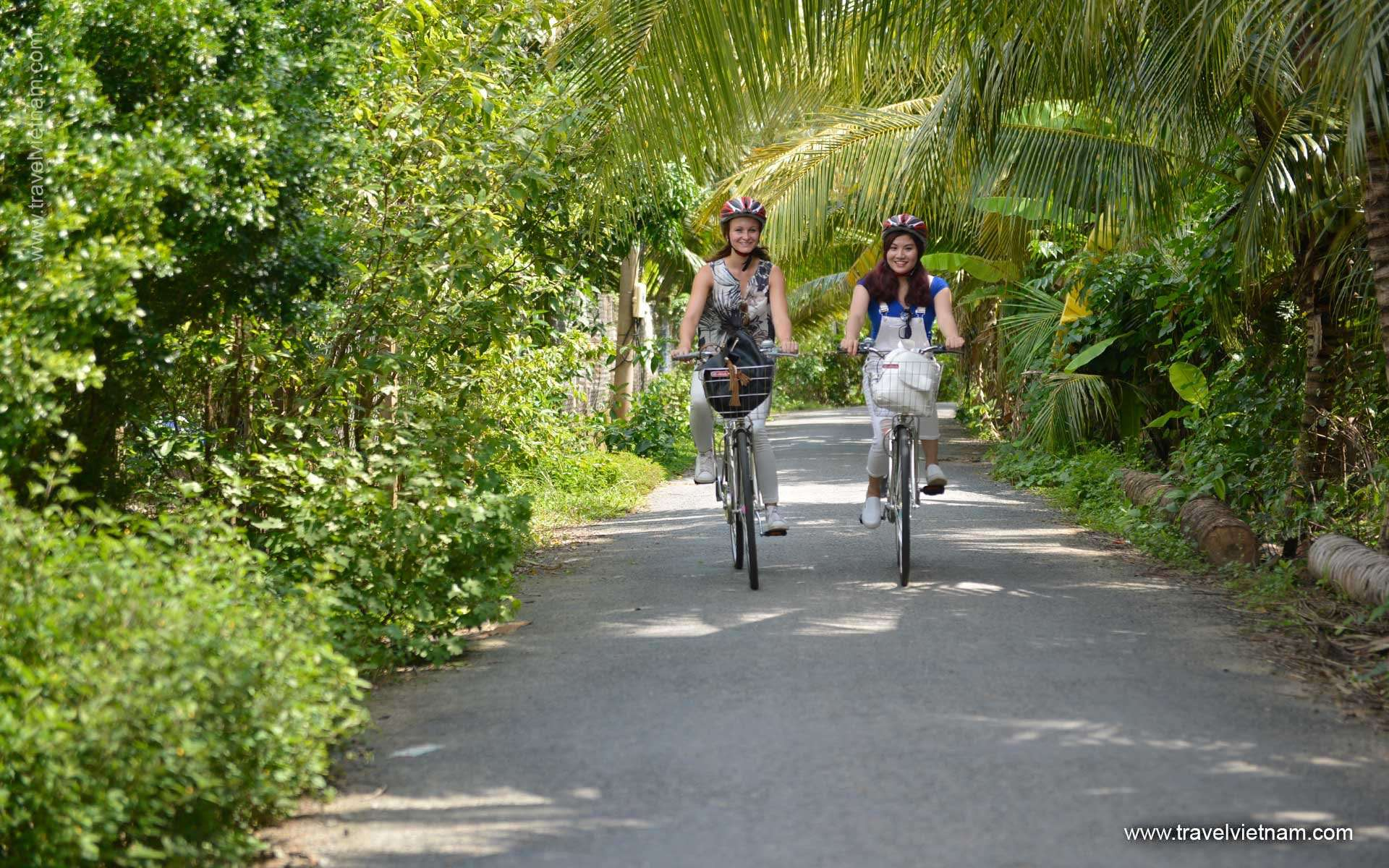 Biking Mekong Delta - 4 Days