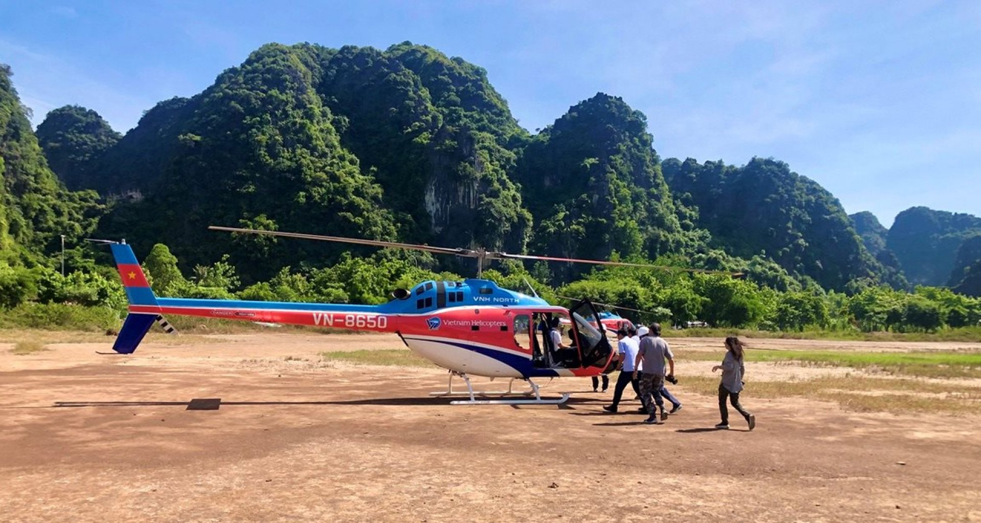 Visit Ninh Binh by Helicopter