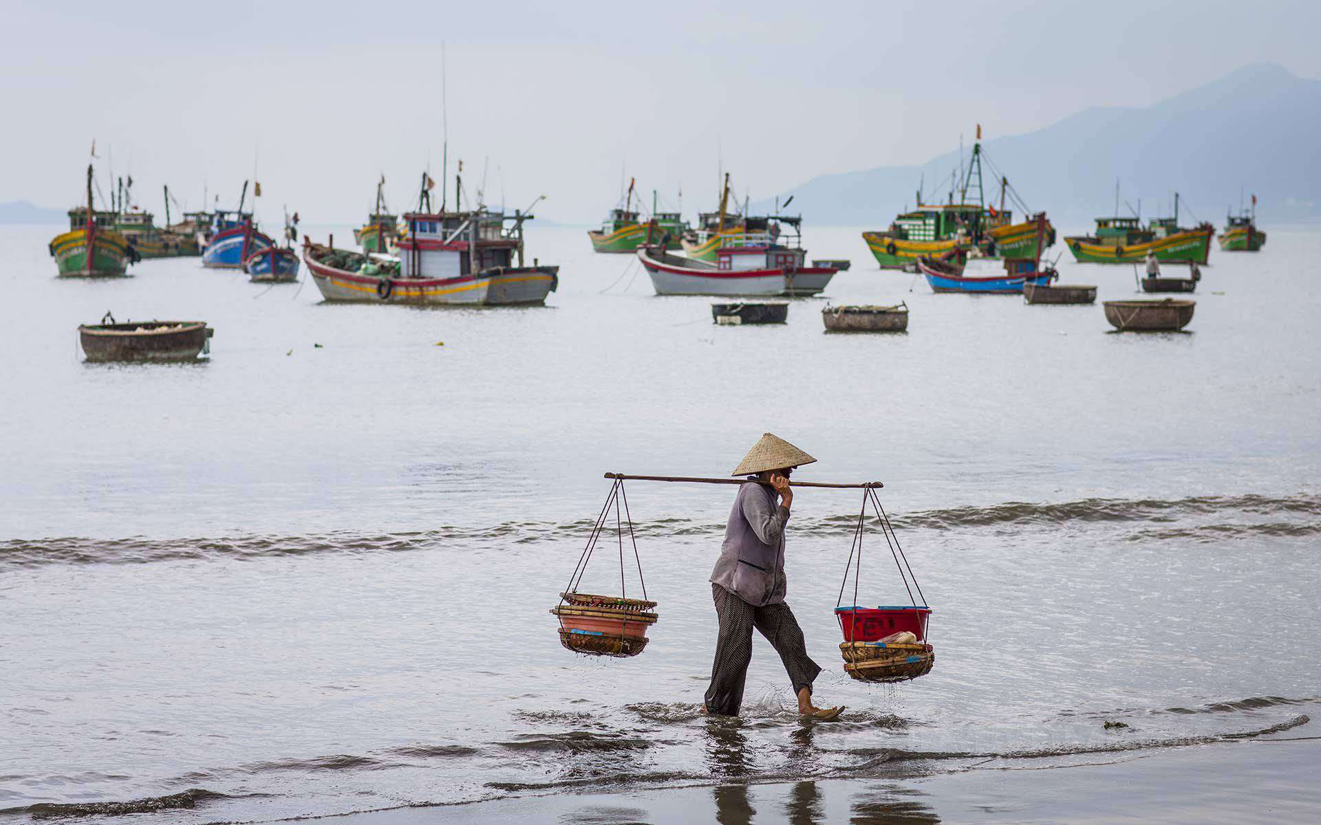 A beach vacation in Quy Nhon